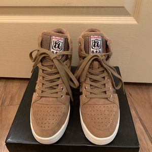ASH Wedge heel Hi-Top Sneakers